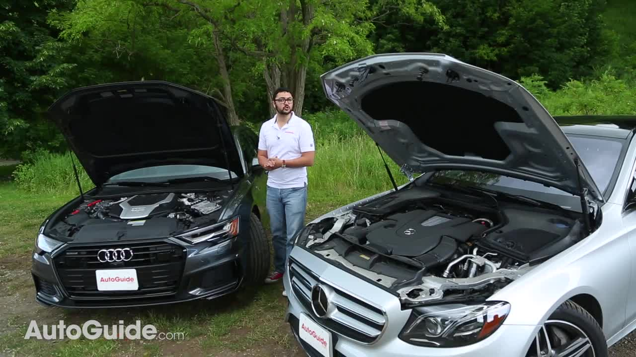 E-Class vs A6 Video Thumb